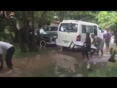 Good service after heavy rainfall