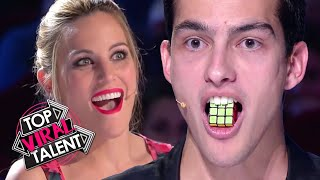 Judges are MYSTIFIED by these CREATIVE RUBIK'S CUBE Acts from AROUND THE WORLD!