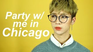 Kpop Party in Chicago with Me and Soju!