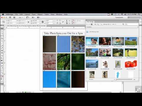 Adobe InDesign CS6 Tutorials | Placing Graphics| InfiniteSkills