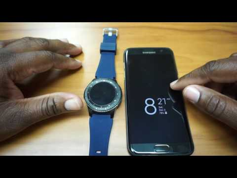 Samsung Gear S3: Getting calls on the watch and your phone when connected via bluetooth
