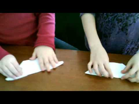 how to make a paper bird beak
