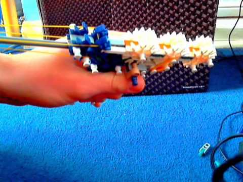 Easy Knex true trigger pistol tutorial