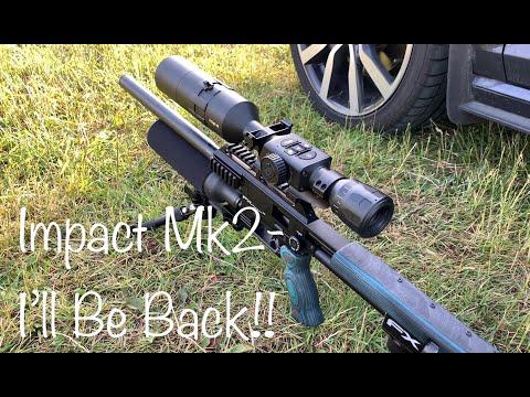 FX Impact AMP regulator adjustment - shooting pellets in the