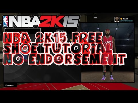 NBA 2K15 Wear Customized and Signatures Shoes FREE | Xbox One PS4