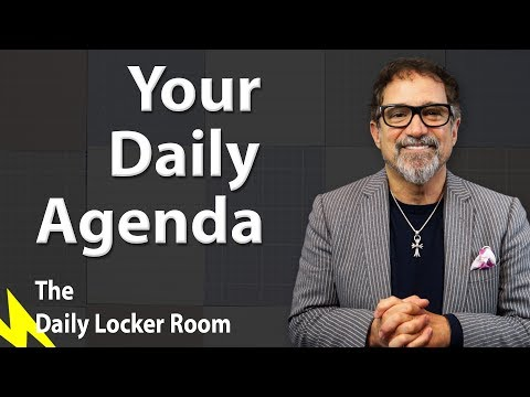 Your Daily Agenda - Coach Gigs Daily Locker Room