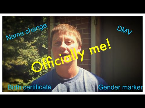 Name Change Gender Marker Change Transgender NC (North Carolina)