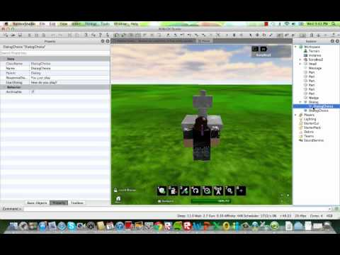 How to make a model talk on ROBLOX!