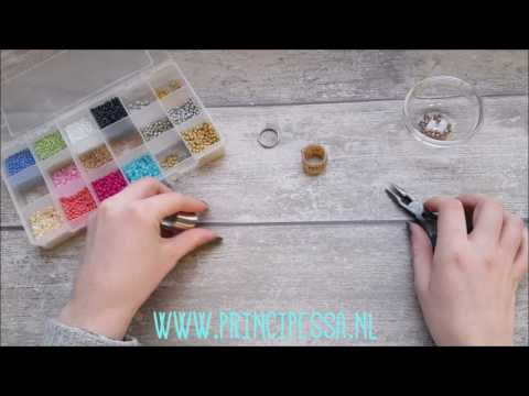Principessa DIY-Tutorial - Memory wire ring
