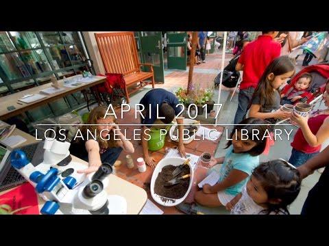Los Angeles Public Library April 2017 Recap