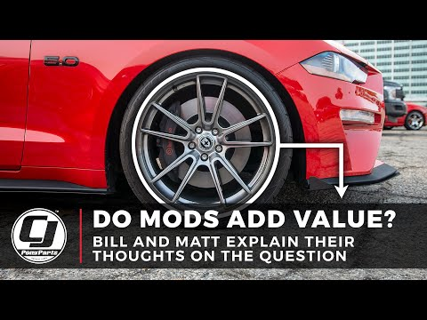 Do Mods Add Value to your Car?