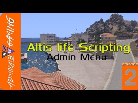 [HOWTO] Altis life Scripting Admin Menu