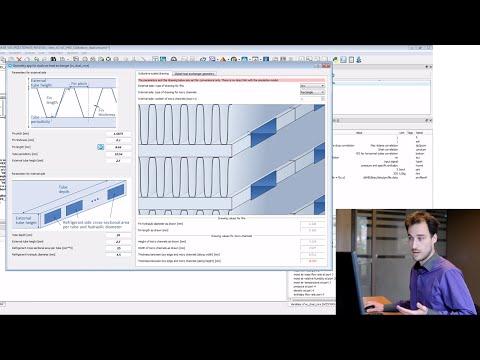 Simcenter Amesim – Parameterizing and calibrating a dualcore heat exchanger