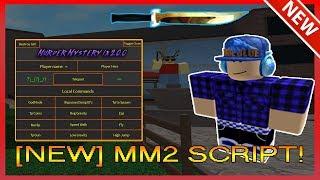 Mm2 Script Gui