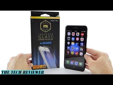 ITG Silicate Screen Protector for iPhone 7 Plus: Easy Install, Crystal Clear and Extra Tough!