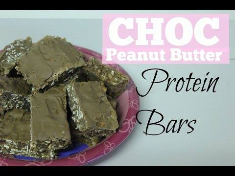 How to Make Chocolate Peanut Butter Protein Bars | Protein Powder