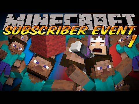 [NEW SERIES] Minecraft Subscriber Fun Event 1 - RACE FOR WOOL Slippery Slope PART 1
