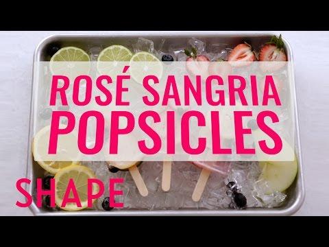 Rosé Sangria Popsicles | Shape