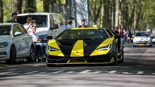 Supercars Accelerating - LaFerrari Aperta, Aventador SVJ, Centenario, M6 GT3, 918 Spyder, Veyron,...