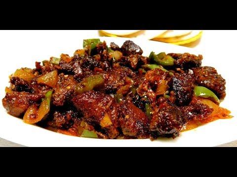Chilli Pork Recipe Kerala Style   Pork Chilli Fry Recipe