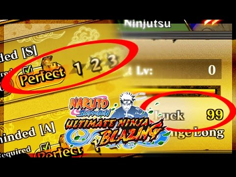 How To Farm Luck! What Luck Does! Naruto Shippuden: Ultimate Ninja Blazing!