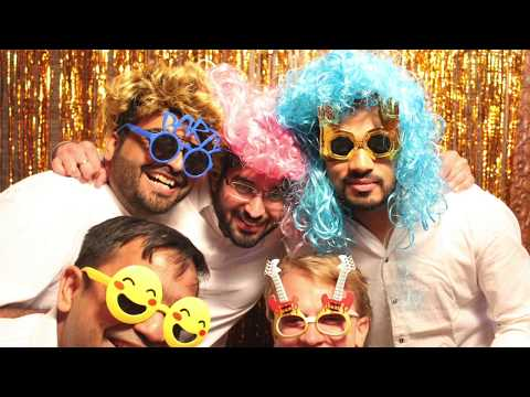 Custom Photo Booth PROPS Rentals And Selfie Station Photo Booth