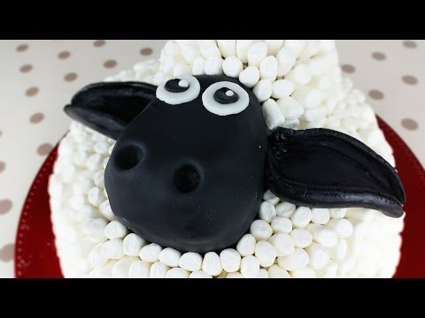 How to Make a Shaun The Sheep Black Forest Gateau Cake   From Scratch Recipe   CarlyToffle