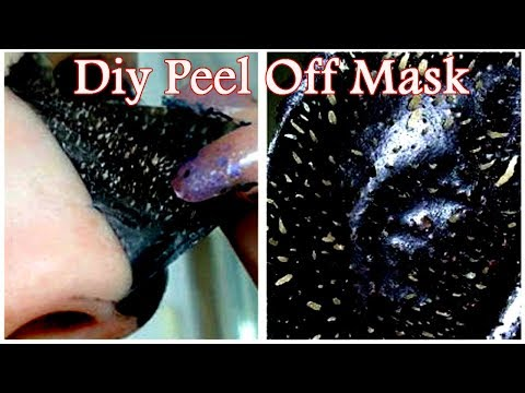 Remove Blackheads & Whiteheads Easily At Home With DIY Peel Off Mask