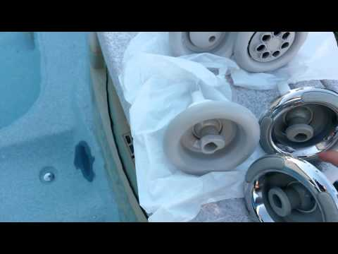 Spa/Hot Tub Jets How to Remove & Replace w/Type Comparison ~Sundance Altamar Intellijet