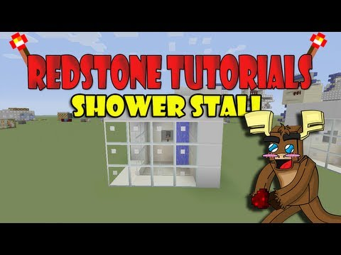 Shower stall Tutorial (Minecraft Xbox 360)