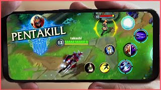 LOL MOBILE BEST MOMENTS & OUTPLAYS! - WILD RIFT Highlights Montage #1