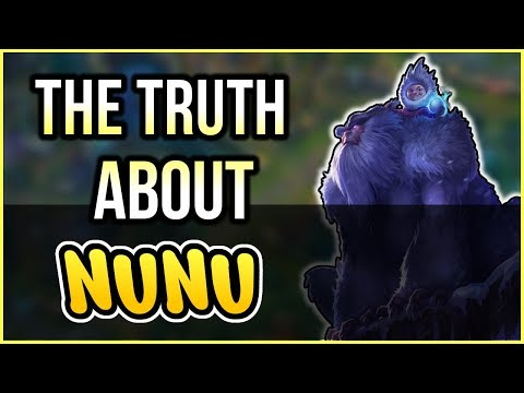 Why NO ONE should play Nunu - League of Legends Season 8