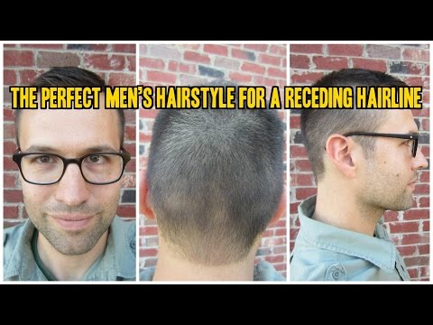 The Perfect Men's Haircut for a Receding Hairline