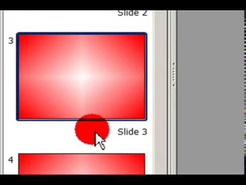 How to Add Shaded Background Gradient & Colour in the Slide in OpenOffice.Org Impress