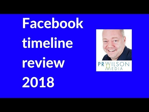 Facebook Timeline and Tagging review settings 2018