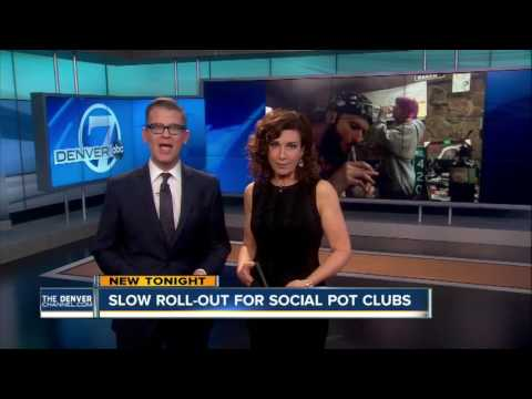 Denver, CO | Slow Roll Out For Social Pot Clubs