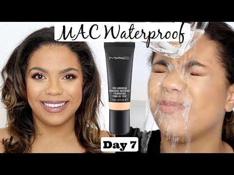 MAC Waterproof Foundation Review + Waterproof Test! | Samantha Jane