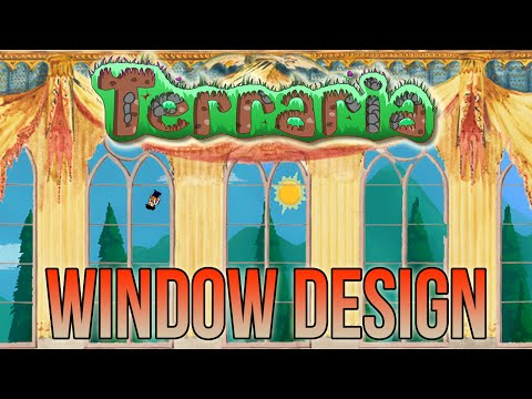 Terraria | How to Build Windows!