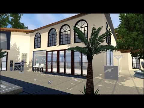 The Sims 3 House Jenner/Kardashian Mansion Hidden Hills, CA, Hillwood