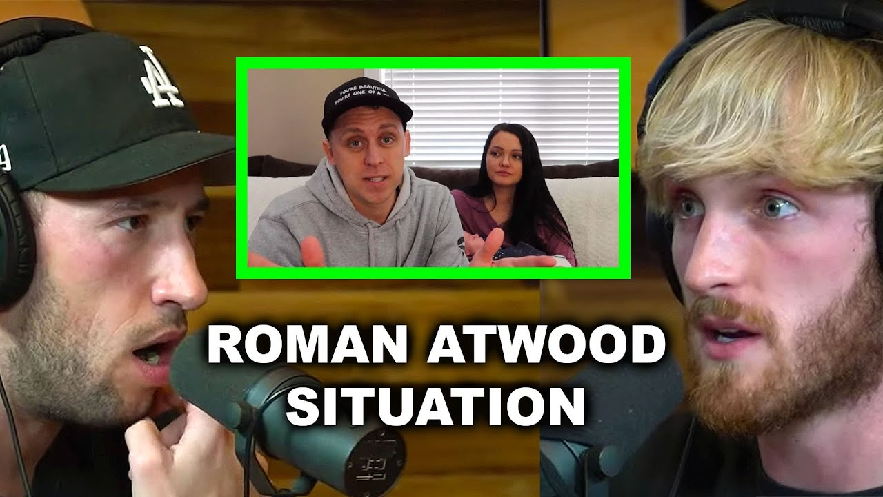 ROMAN ATWOOD HAS A CREEPY CYBER STALKER!