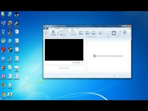 How To Record Yourself On a Webcam Through Windows Live Movie Maker