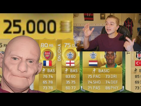 FIFA 15 - 25K PACKS | Russian Roulette Pack Opening!