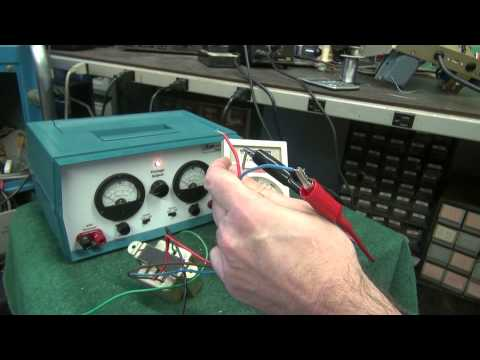 Guitar amp tube output transformer testing How to D-Lab Fender Princeton