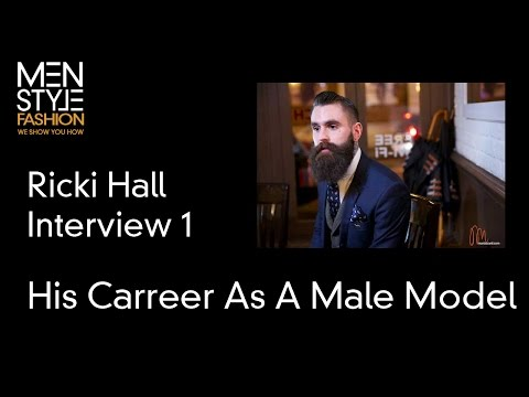 Ricki Hall Interview (Part 1) - His Career As A Male Model