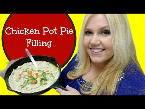How To Make CHICKEN POT PIE FILLING Recipe - Gluten Free!