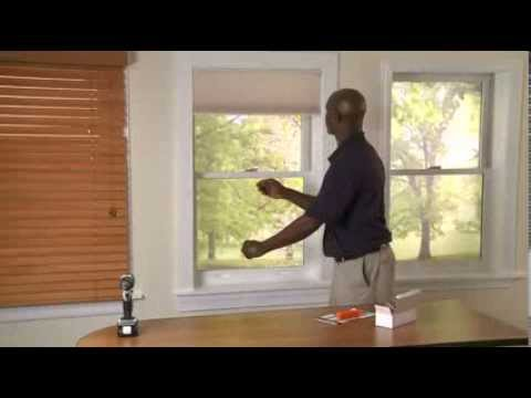 How to Install Inside Mounted Honeycomb Shades