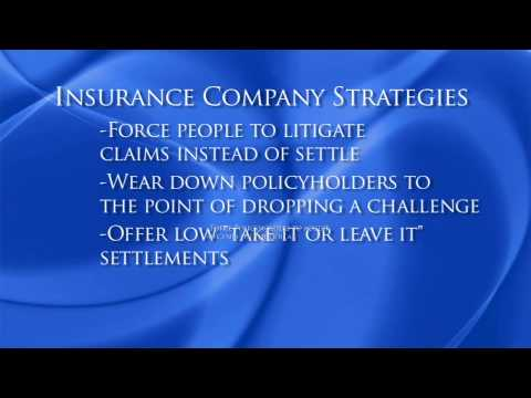 Chicago Injury Lawyer | What the Insurance Companies Do Not Tell You