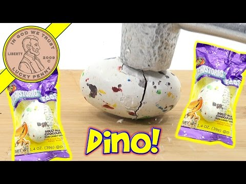 Prehistoric Dinosaur Milk Chocolate Candy Egg - Smash!