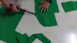 Blouse Cutting (ब्लाउज कटिंग)