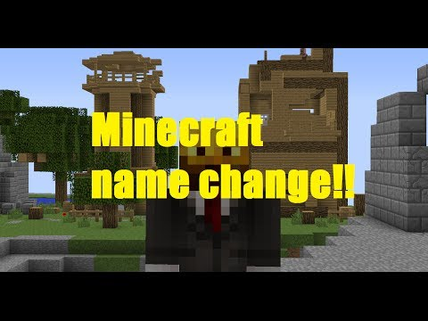 Minecraft - Name changing - 1.8